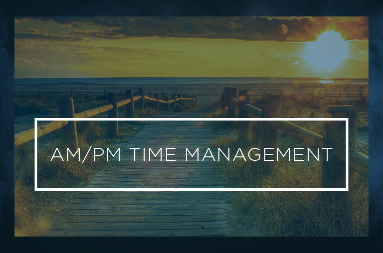 AM PM Time Management