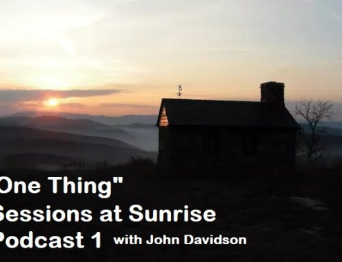 Sessions at Sunrise – One Thing