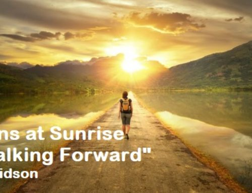 Sessions at Sunrise – Walking Forward